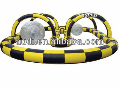 Zorb/Kart Inflatable race track,air track,inflatable barrier
