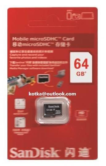 Micro SD Card 64GB/32GB/16GB