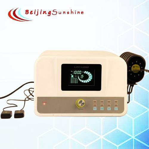2013 New Professional 650nm lipolysis Lipo laser slimming machine for weight loss model BJ020