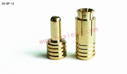 3.5mm Gold plated Connector male and female