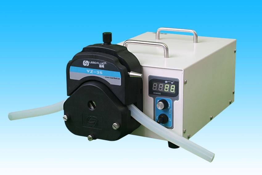 speed control industrial peristaltic pump