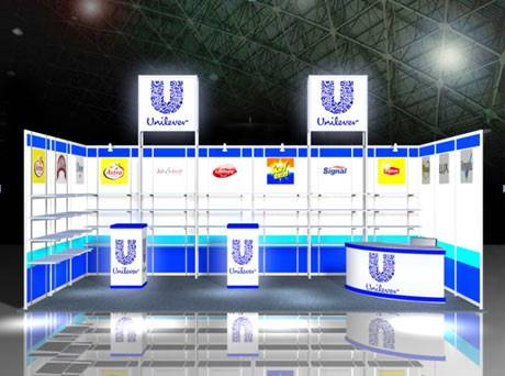 Exhibition Booth Stands construction design