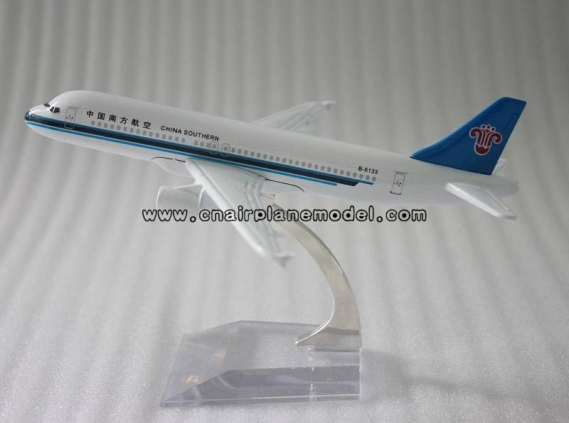 airplane model A320 China Southern