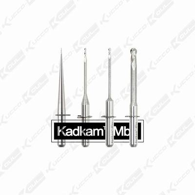 Wieland CAD/CAM milling burs Zirconia/Alloy/PMMA/Wax blank milling cutters dental CNC end mills