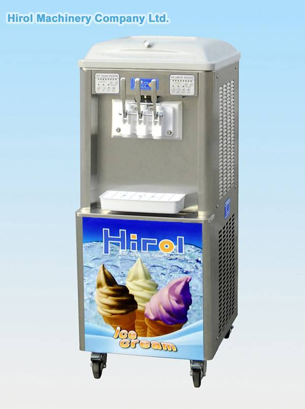 Soft ice cream machine:BQL920S(Double Refrigeration System Model)