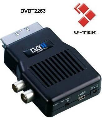 Mini Scart Mpeg2 DVB-T Receiver,set top box, TV Tuner, DVBT2263