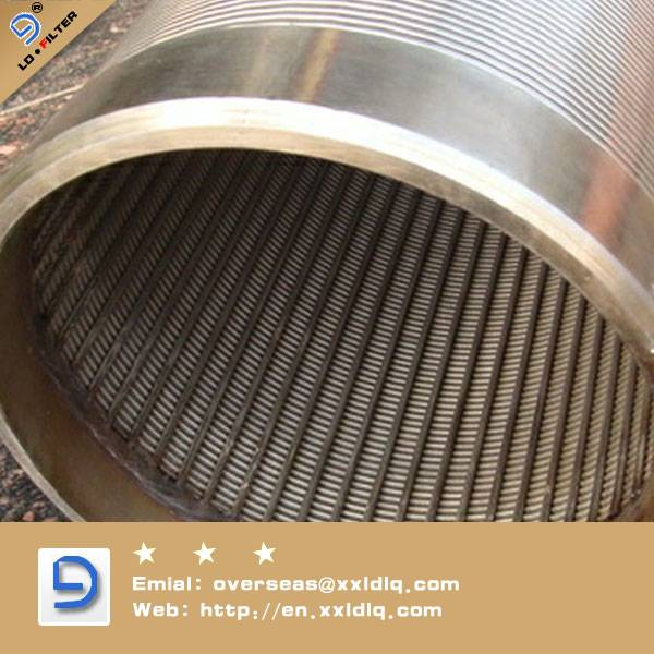 8'' Stainless Steel Johnson strainer screen pipe