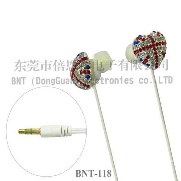 High quality best design earphone