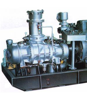 Coal-Bed Methane Screw Air Compressor:
