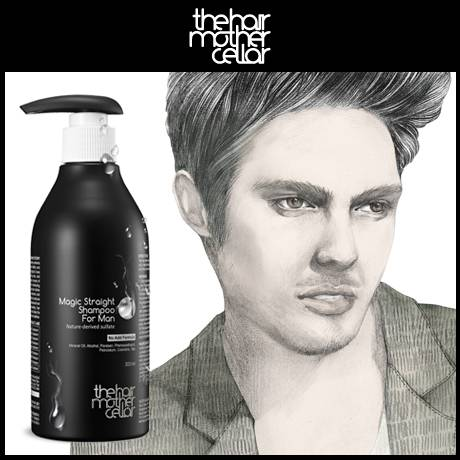 Magic Straight Shampoo For Man