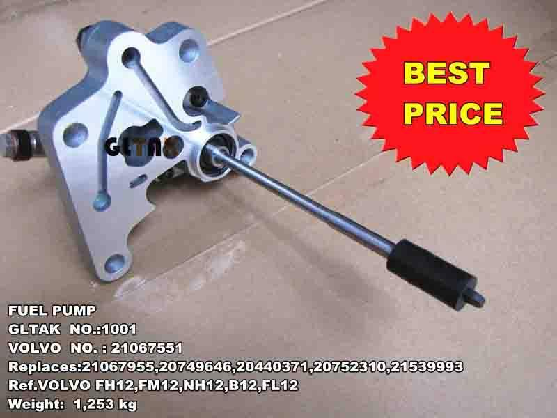 Truck Fuel Pump For Renault Volvo 21067551 20752310 20411997  20441871 21067955