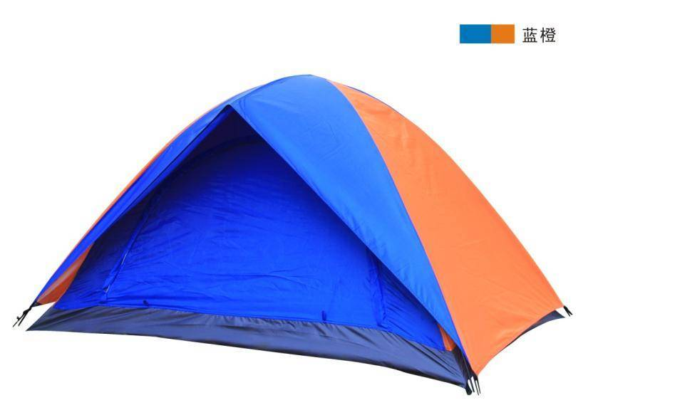two persons camping tent