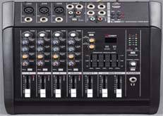 4/6 channel audio mixer PMX-402D/USB