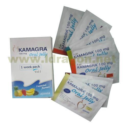 Kamagra 100mg Oral Jelly Sex Enhancer
