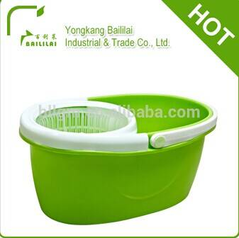 2014 hottest 360 rotating small mop bucket with extensible handle BLL-022