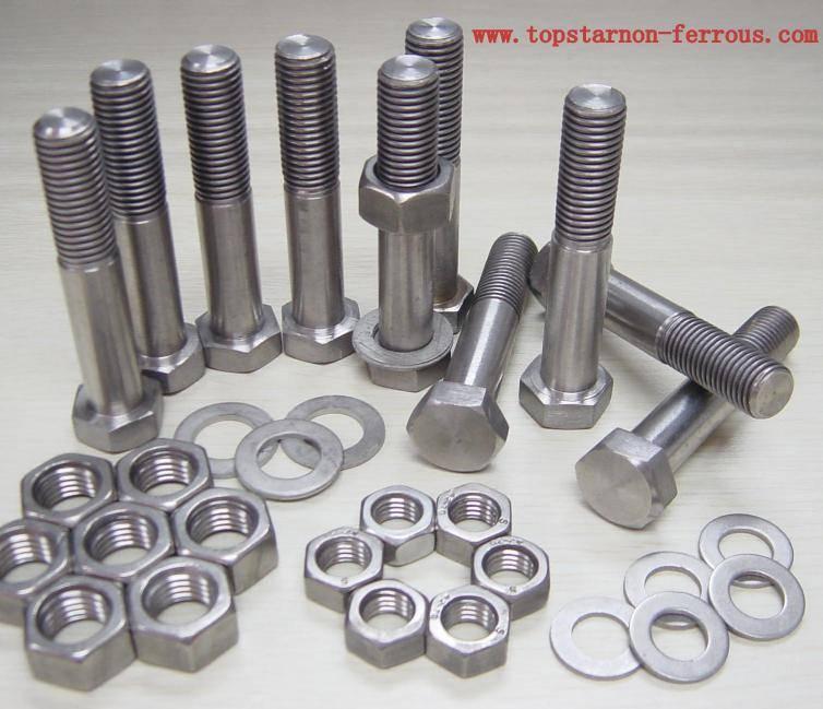 Titanium furnace parts