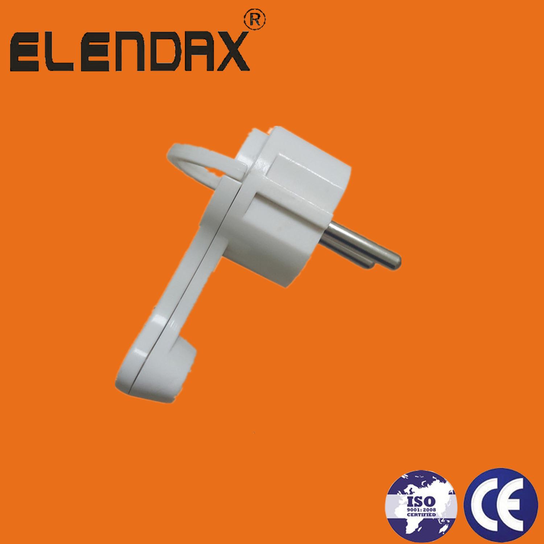 Extra flat corner 250V 16A Schuko angular sign 90 -degree Euro type