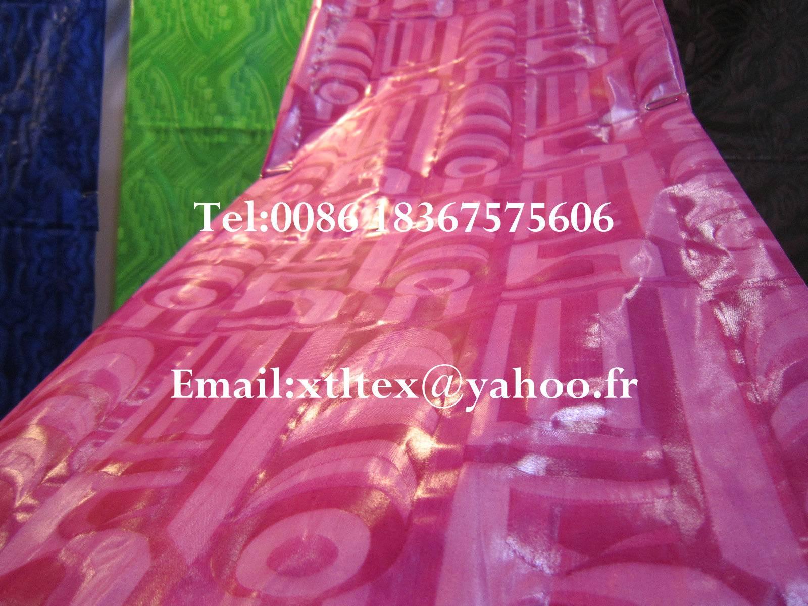 Bazin Riche MALI THIOUB Damask Shadda Guinea Brocade Jacquard fabric
