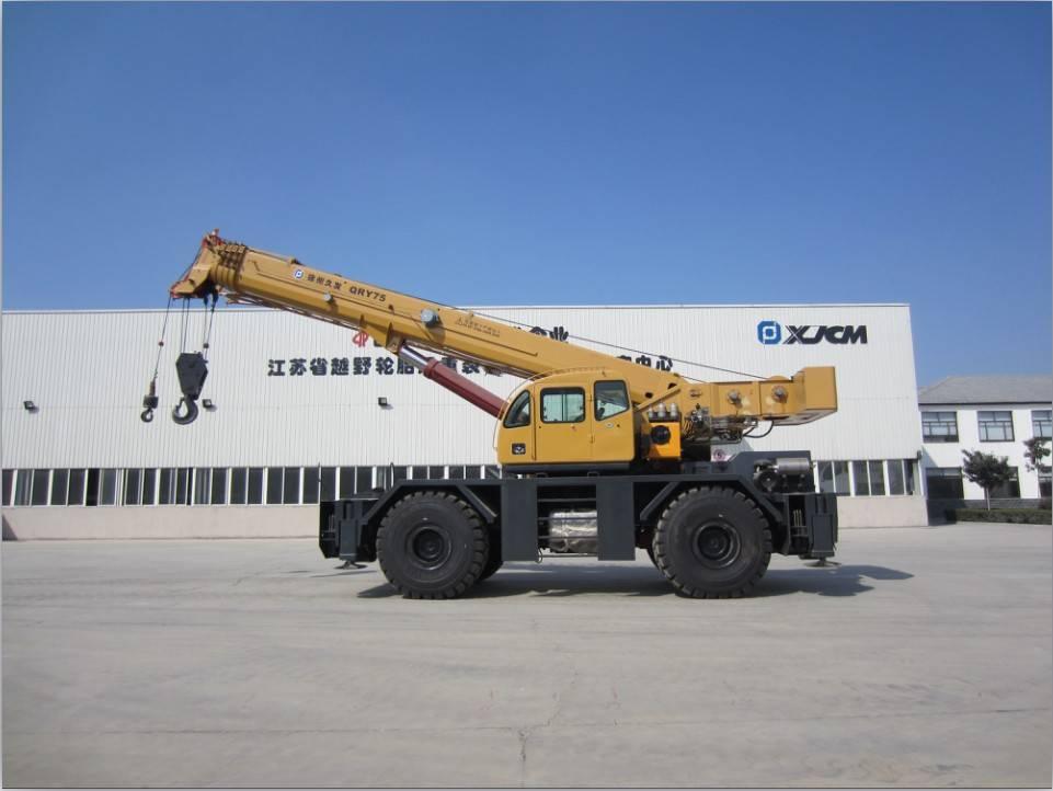 75ton rough terrain crane