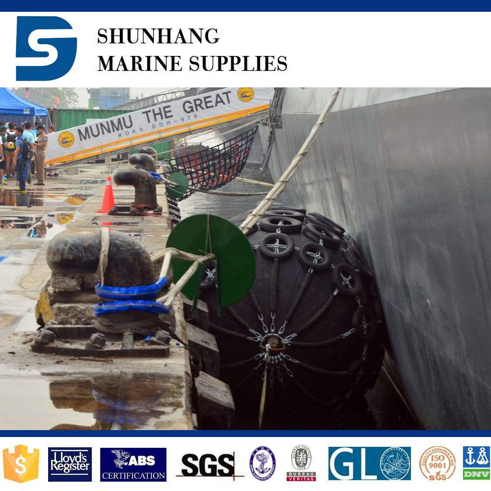 China Supplier Marine Yokohama Pneumatic Floating Rubber Fender For Ship