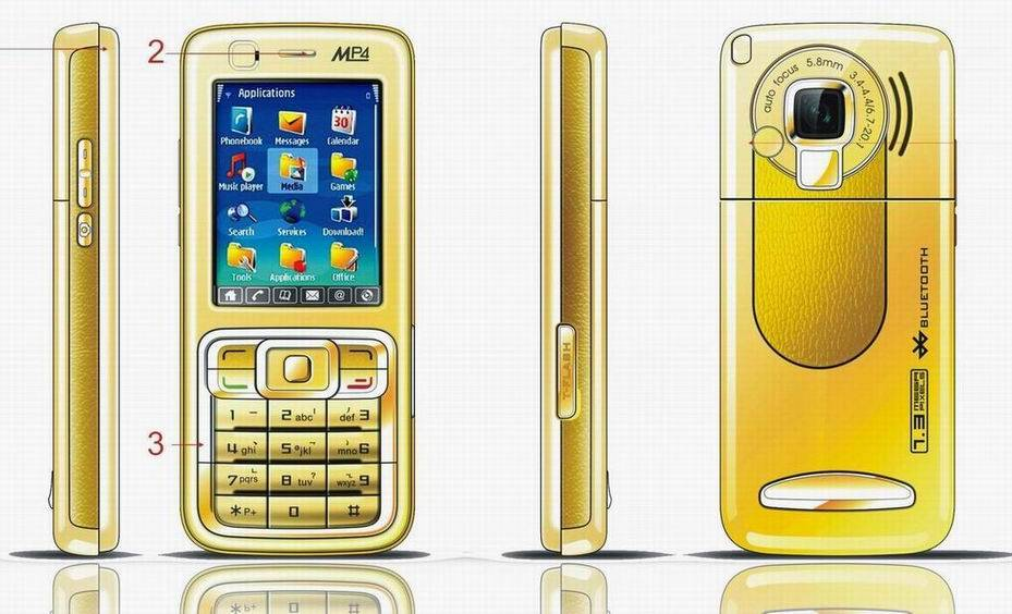 Mp3, Mp4 Mobile Phone, Cell Phone W/ Camera, PDA functions