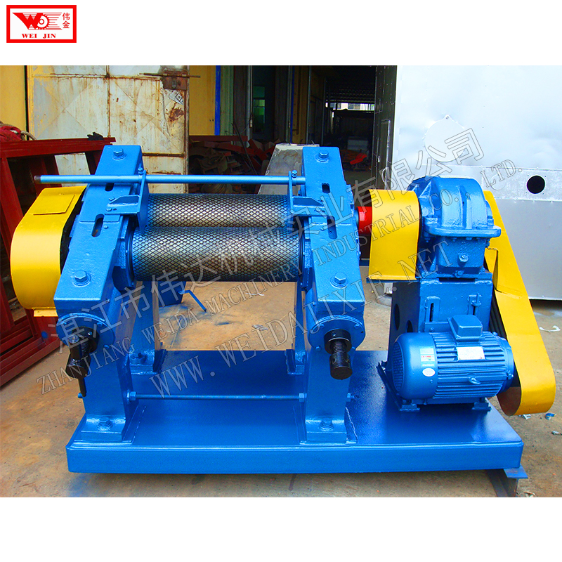 Natural rubber sheet pressing machine creper
