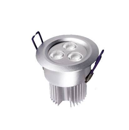 led dimmable 3X3W led downlight 9W 3W