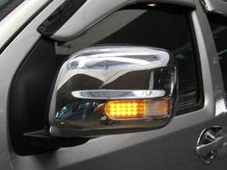 DOOR MIRROR COVER WITH LED -- Nissan Frontier NAVARA ( H61B ).