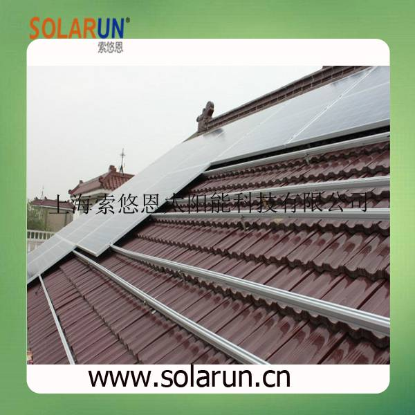 pitch tile roof solar mounting brackets