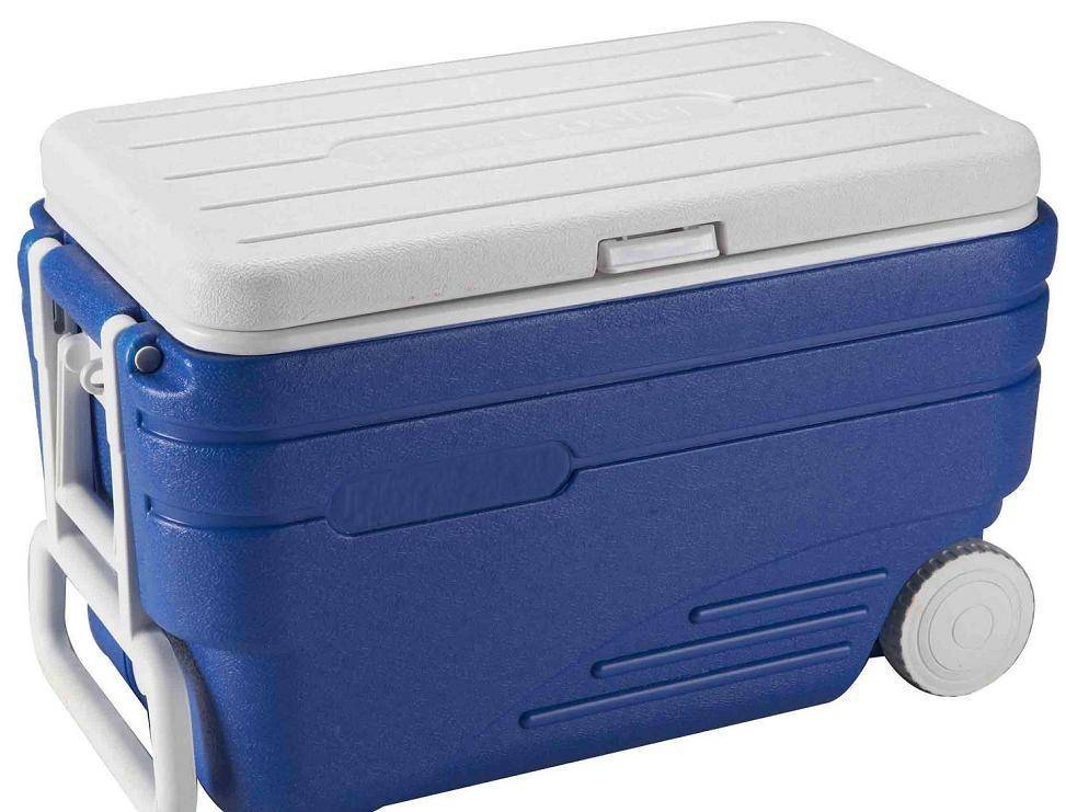 80L plastic environmental fishing cooler box