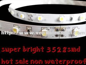 2012 new and hot led light strip 3528 red