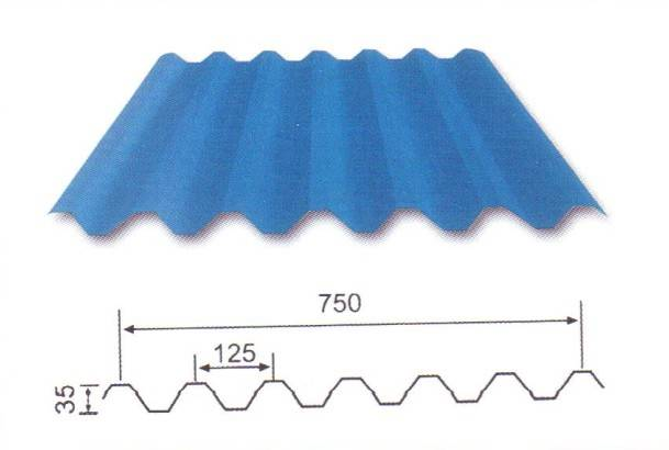 Top quality aluminium roofing sheet
