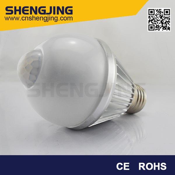 The Motion Sensor Bright Lights LED Bulb