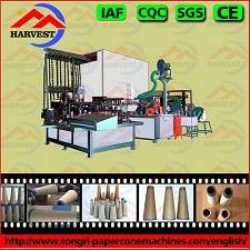 high-efficiency paper cone making machine for textile