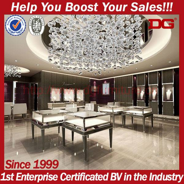 high end jewelry store fixtures for sale