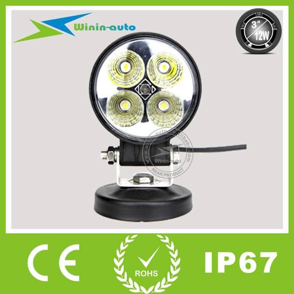 3 12W LED Epistar auto lamp Work light 900 LUMEN WI3121