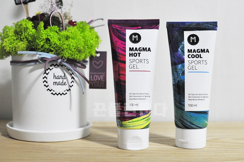 Patented Magma Sports Hot & Cool Gel