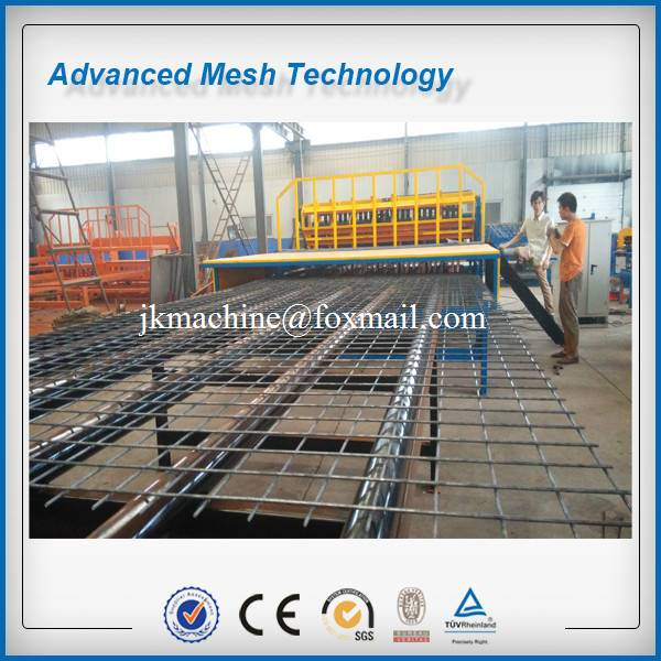 Slab Mesh Concrete Reinforcing Mesh Making Machines