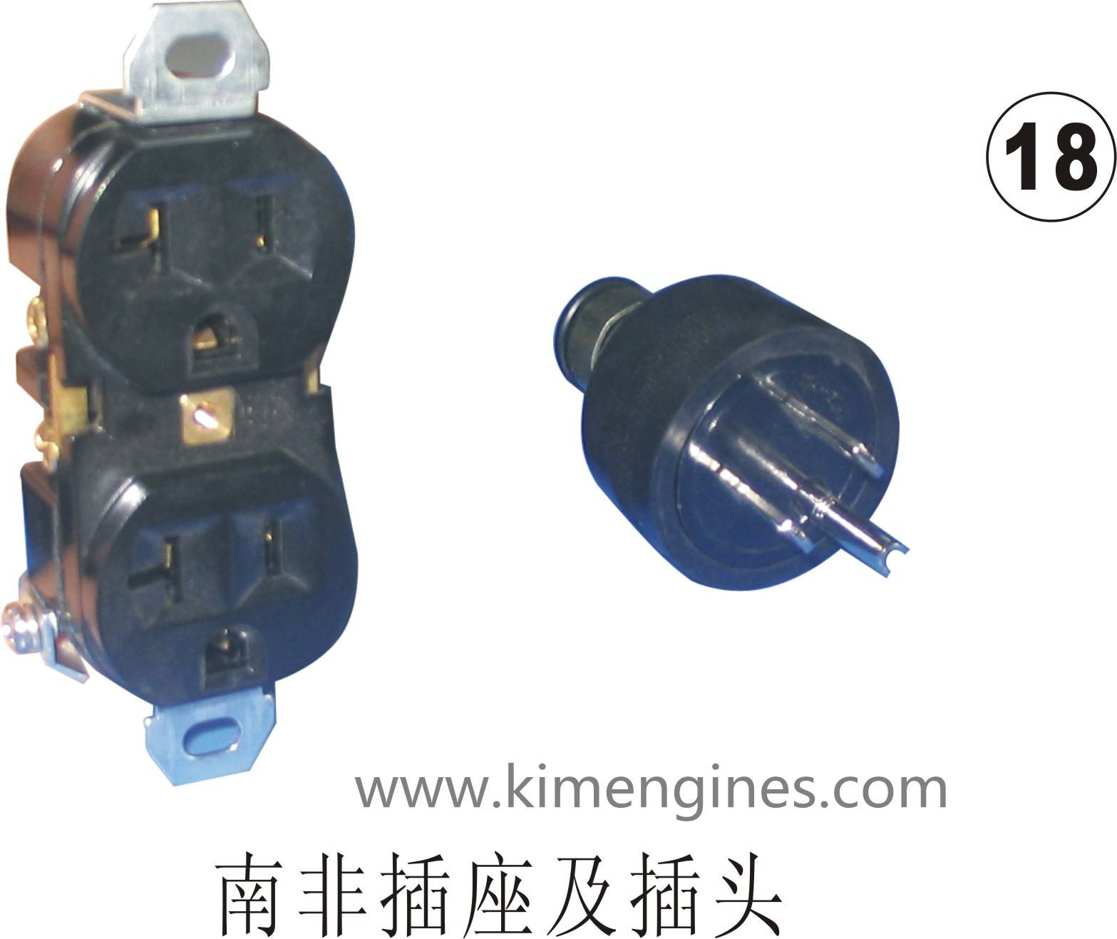 Plug / socket for GX120, GX160-200, GX240-420 generatror with high quality