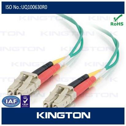 fiber optic lc patch cord multi mode duplex with customized length