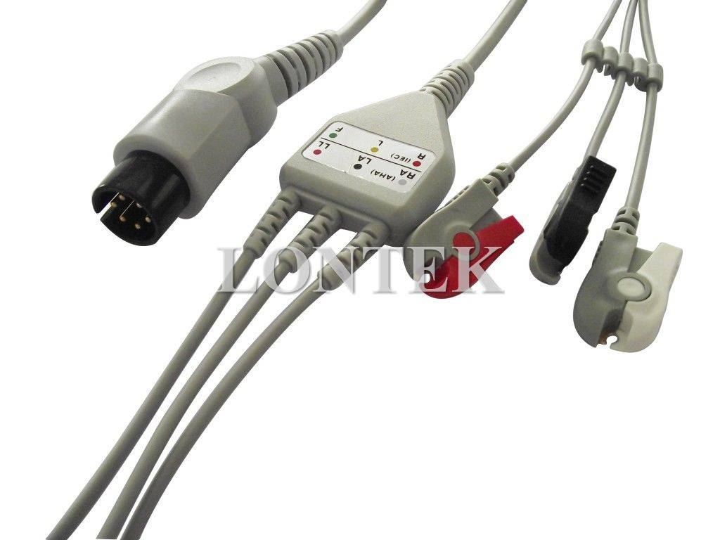Mindray one piece 5 leads ECG cable