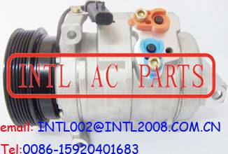 DENSO 10S17C auto ac compressor Chrysler 300 Dodge Charger Magnum 3.5L 6PK PV6 pulley 55111035AA