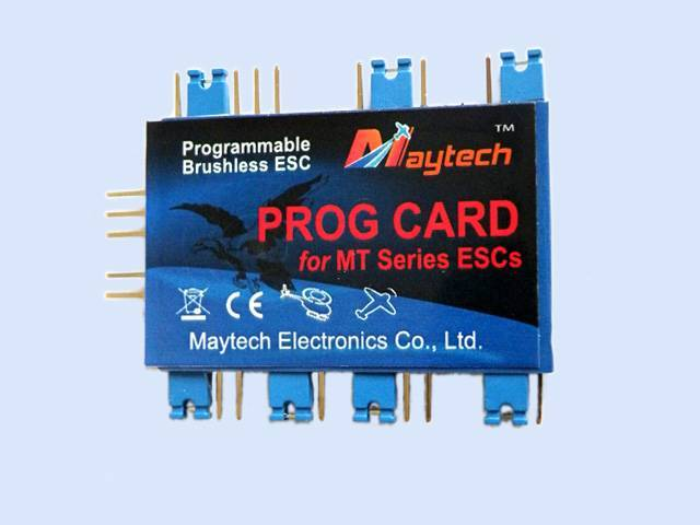 MayTech Brushless speed controller (ESC) Programming Card