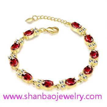 Gold Costume Fashion Resin Jewelry Girls Women Ladies Woman Bracelets
