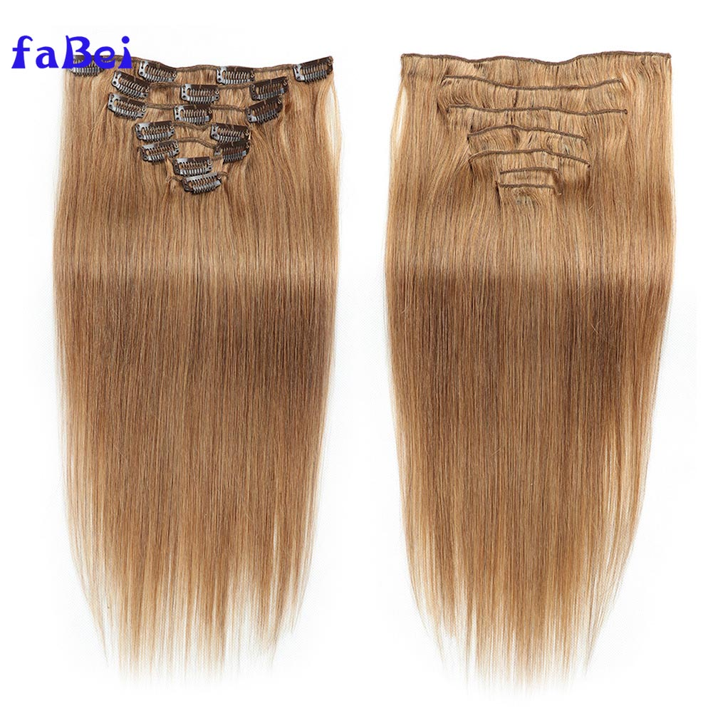 Best selling Brazilian human hair No Tangle No Shedding Clip In Remy Human Hair Extension