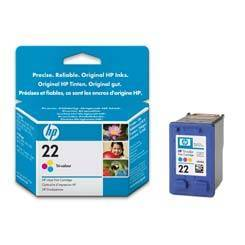 empty original hp ink cartridge no rifilled recycled