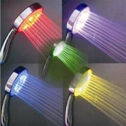 Led shower, led shower head