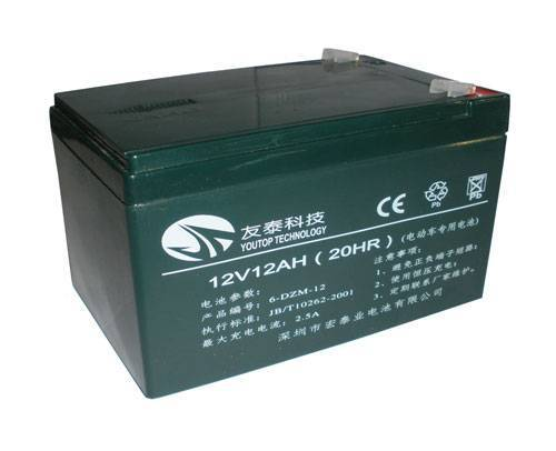 12V12Ah VRLA battery for E-bike