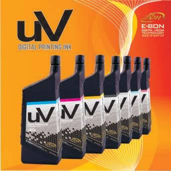 UV curable ink for uv flatbed printers