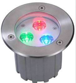 3X1W / 3X3W LED Underground light for IP67
